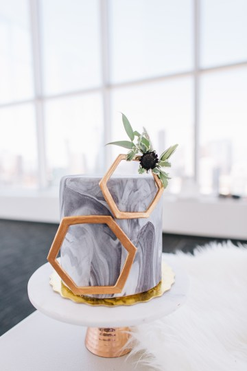 Modern Japanese Inspired Rooftop Wedding Inspiration (With Sushi & Uni, Yum!) | CCL Events | Christine Farah Photography 22