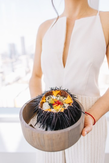 Modern Japanese Inspired Rooftop Wedding Inspiration (With Sushi & Uni, Yum!) | CCL Events | Christine Farah Photography 27