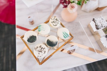 Modern Japanese Inspired Rooftop Wedding Inspiration (With Sushi & Uni, Yum!) | CCL Events | Christine Farah Photography 47