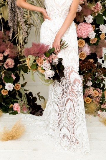 Modern Silk Gowns & Floral Wall Inspiration For The Hip Bride | Anastasia Fua elliftheartist 44
