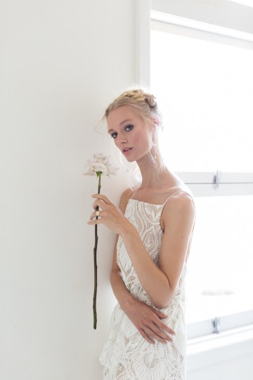 Modern Silk Gowns & Floral Wall Inspiration For The Hip Bride | Anastasia Fua elliftheartist 48