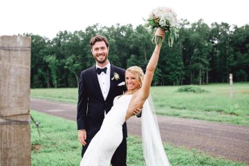 Relaxed Virginia Winery Wedding | Alison Leigh Photography 35