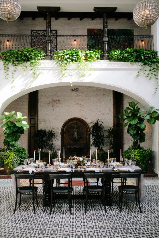 Romantic, Spanish, Hemingway Inspired Wedding Style   All in Love Design by Anna Lisa   Scott Sikora 39