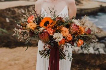 Southwestern Styled Beachy Wedding Ideas | Flourish | Madeline Barr Photo 1