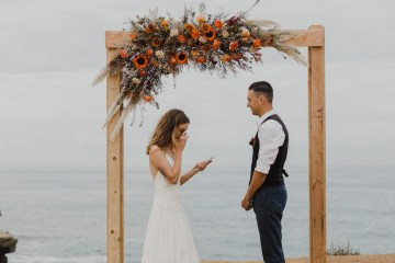 Southwestern Styled Beachy Wedding Ideas | Flourish | Madeline Barr Photo 12