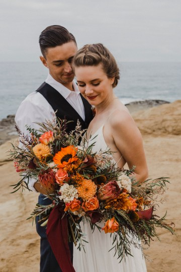 Southwestern Styled Beachy Wedding Ideas | Flourish | Madeline Barr Photo 27