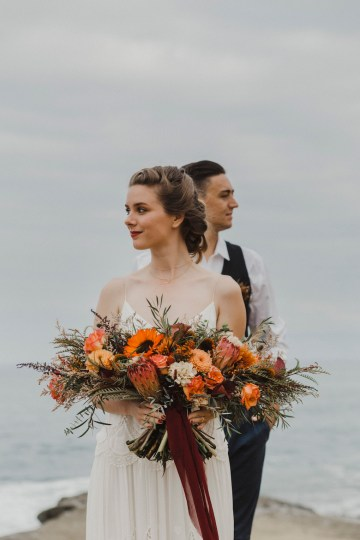 Southwestern Styled Beachy Wedding Ideas | Flourish | Madeline Barr Photo 30