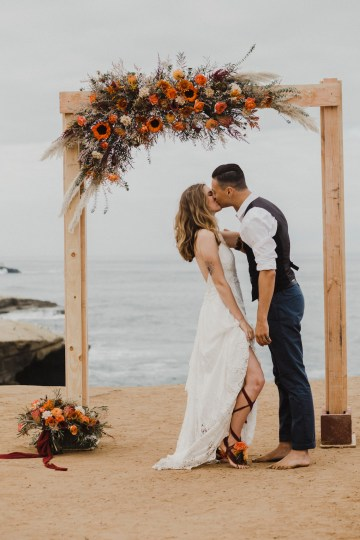 Southwestern Styled Beachy Wedding Ideas | Flourish | Madeline Barr Photo 38