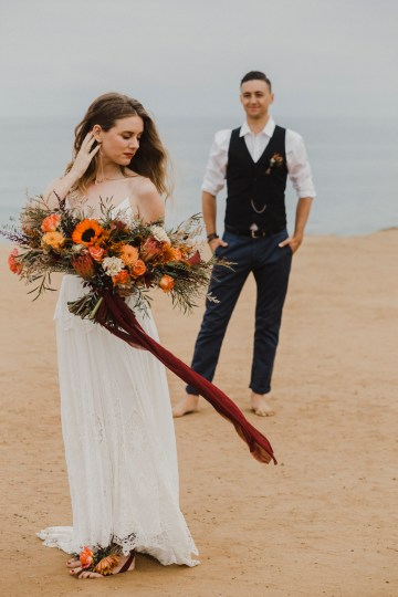 Southwestern Styled Beachy Wedding Ideas | Flourish | Madeline Barr Photo 39