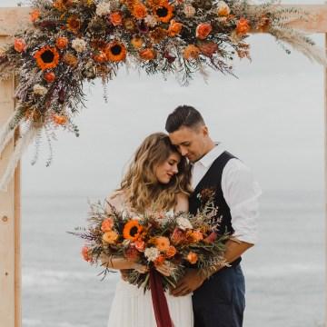 Southwestern Styled Beachy Wedding Ideas | Flourish | Madeline Barr Photo 40