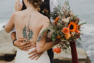 Southwestern Styled Beachy Wedding Ideas | Flourish | Madeline Barr Photo 9