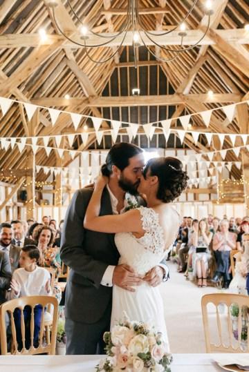 Charming & Personal Clock Barn Wedding   Amber Marie Photography 27