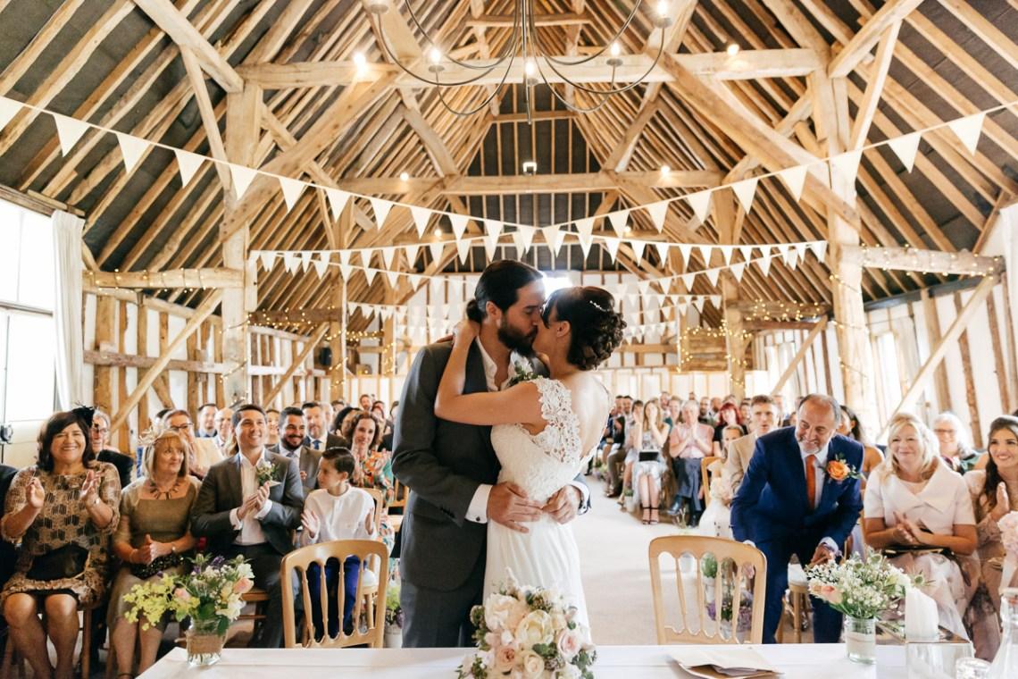 Charming & Personal Clock Barn Wedding | Amber Marie Photography 7