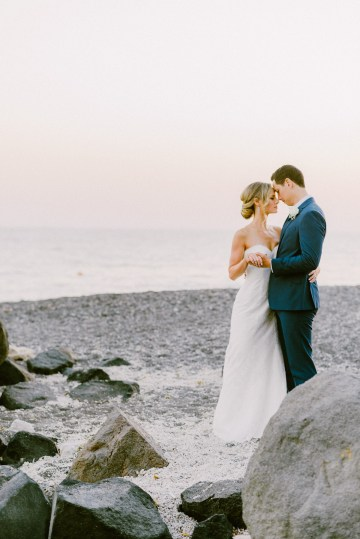 Classy Santorini Destination Wedding (With Amazing Caldera Views!) | Elias Kordelakos 28