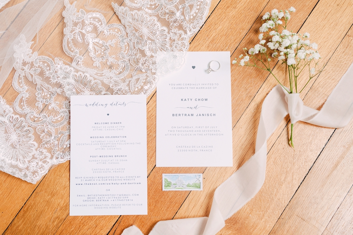 Glamorous French Chateau Wedding | Christina Sarah Photography 2