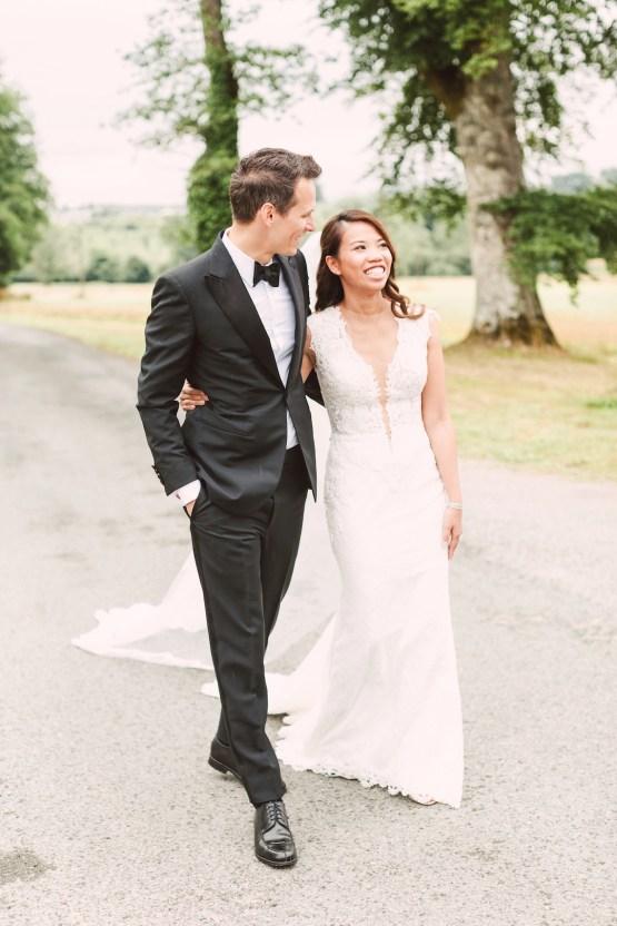 Glamorous French Chateau Wedding | Christina Sarah Photography 23