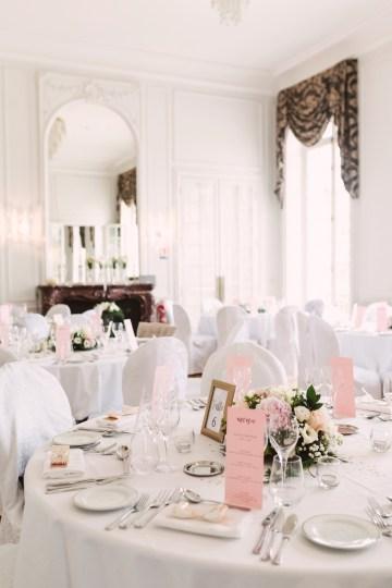 Glamorous French Chateau Wedding   Christina Sarah Photography 27