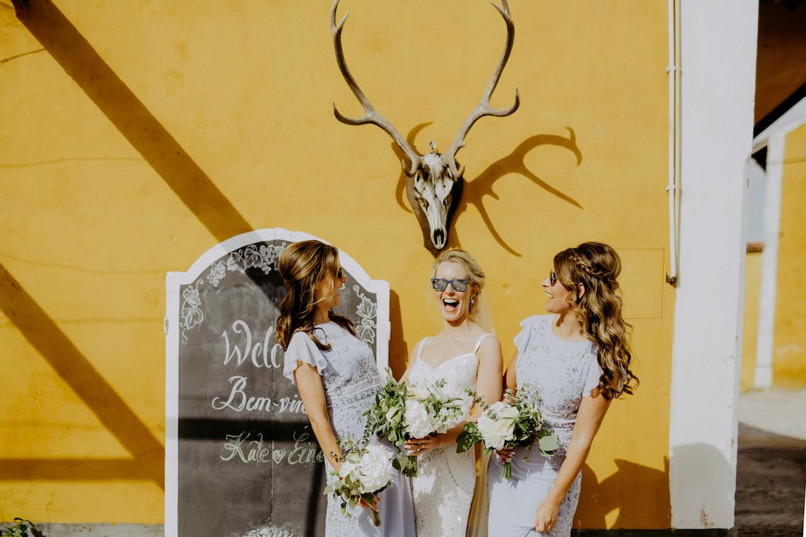 Joyful & Vibrant Lisbon Wedding Film | The Framers 12