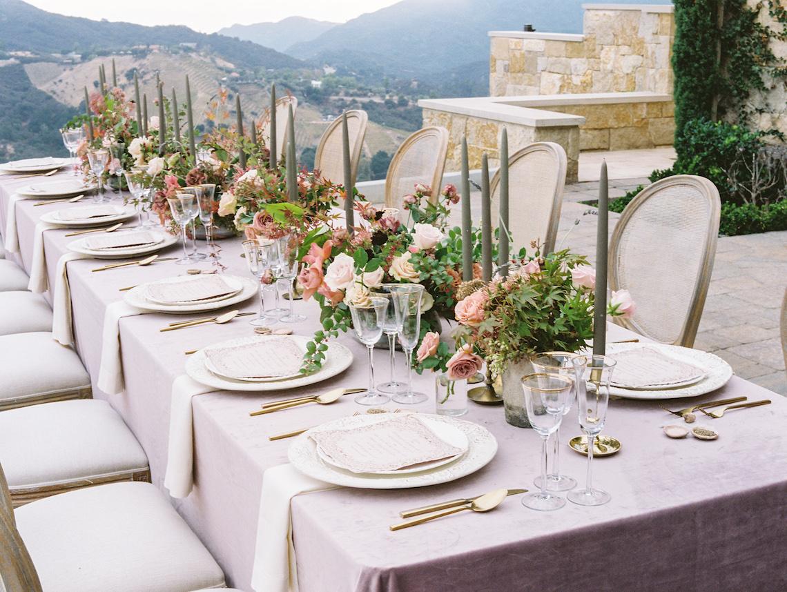 Malibu Wedding Inspiration With A Ruffled Pink Dress | Pura Vida Photography 8