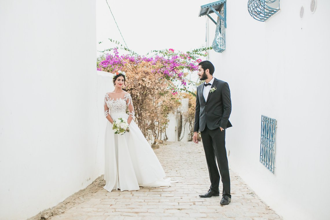 Mediterranean Meets Africa; Colorful Tunisian Wedding Inspiration | Ness Photography 10