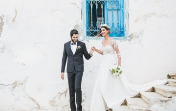 North African Riviera; Colorful Tunisian Wedding Inspiration