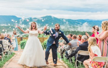 Rustic Carolina Mountain Lodge Wedding