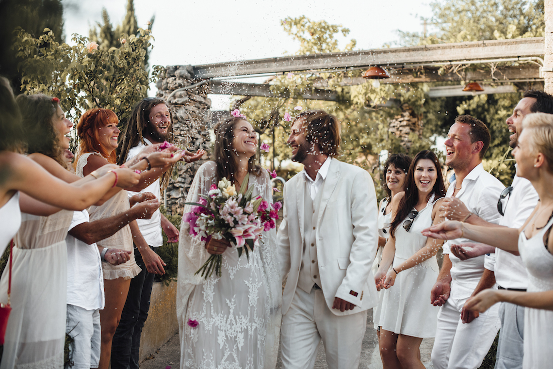Wild, Spanish Wedding Inspiration For Bohemian Brides | IDO Events | Kevin Klein 7