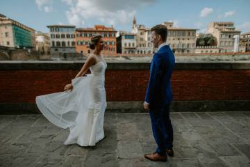 Wildy Romantic & Outrageously Fun Florence Elopement | Kelly Redinger Photography 10