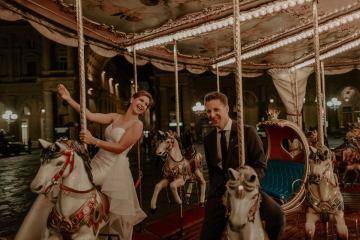 Wildy Romantic & Outrageously Fun Florence Elopement | Kelly Redinger Photography 38