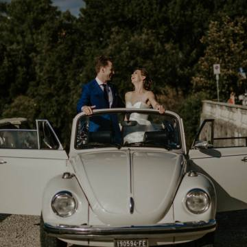 Florence Italy Destination Wedding Pictures with Bride and Groom