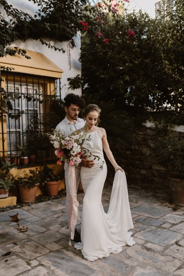 Bougainvillea Wedding Inspiration With Modern Silk Gowns   IDO Events   Kevin Klein 11