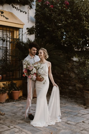 Bougainvillea Wedding Inspiration With Modern Silk Gowns   IDO Events   Kevin Klein 12