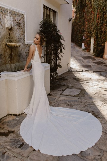 Bougainvillea Wedding Inspiration With Modern Silk Gowns   IDO Events   Kevin Klein 18