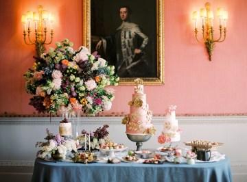 Citrus & Peach Chateau Wedding Inspiration | Lucy Davenport 34
