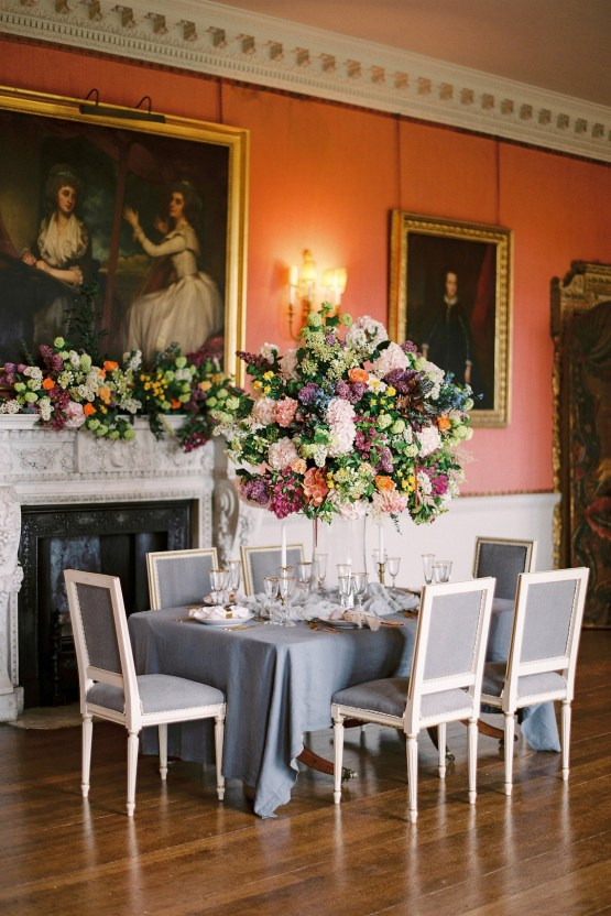 Citrus & Peach Chateau Wedding Inspiration | Lucy Davenport 4