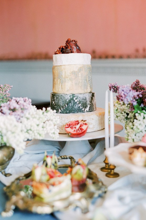 Citrus & Peach Chateau Wedding Inspiration | Lucy Davenport 9
