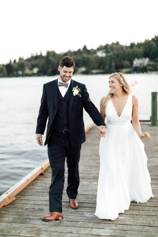 Classic Seattle Waterfront Wedding | JTobiason Photography 30