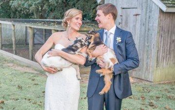 Elegant New England Farm Wedding
