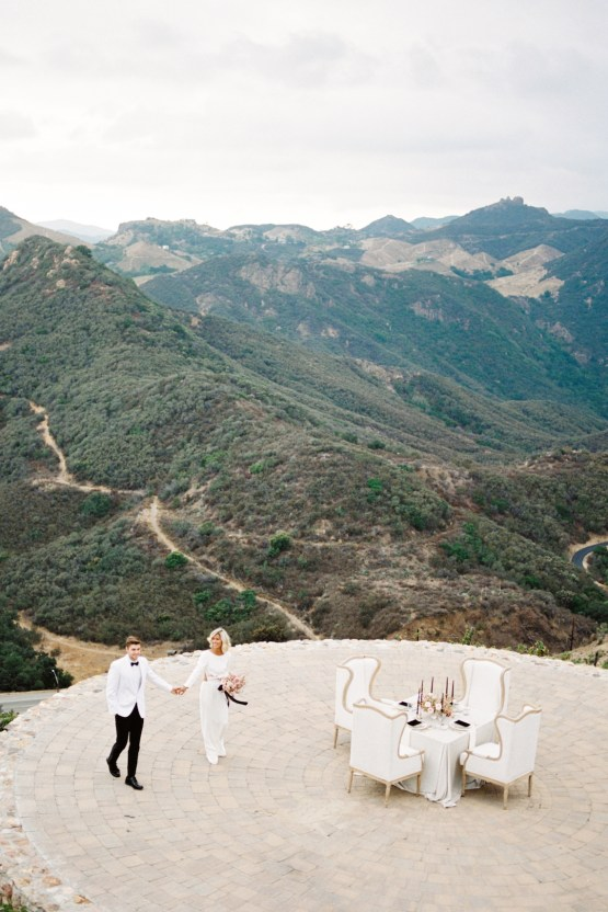 Fashion-forward Black & White Wedding Ideas From Malibu | Babsy Ly 13