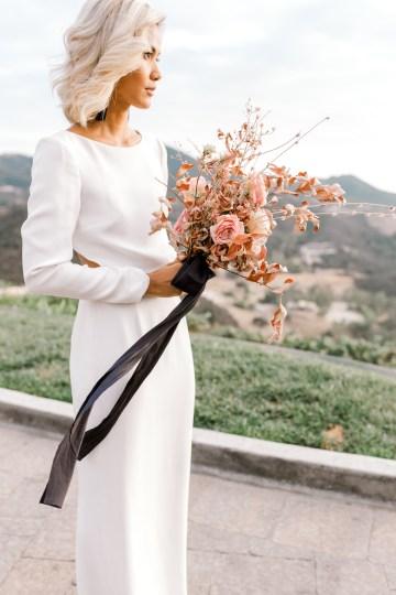 Fashion-forward Black & White Wedding Ideas From Malibu | Babsy Ly 18