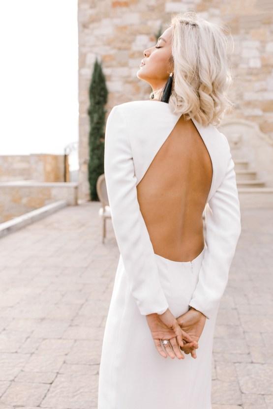 Fashion-forward Black & White Wedding Ideas From Malibu   Babsy Ly 19