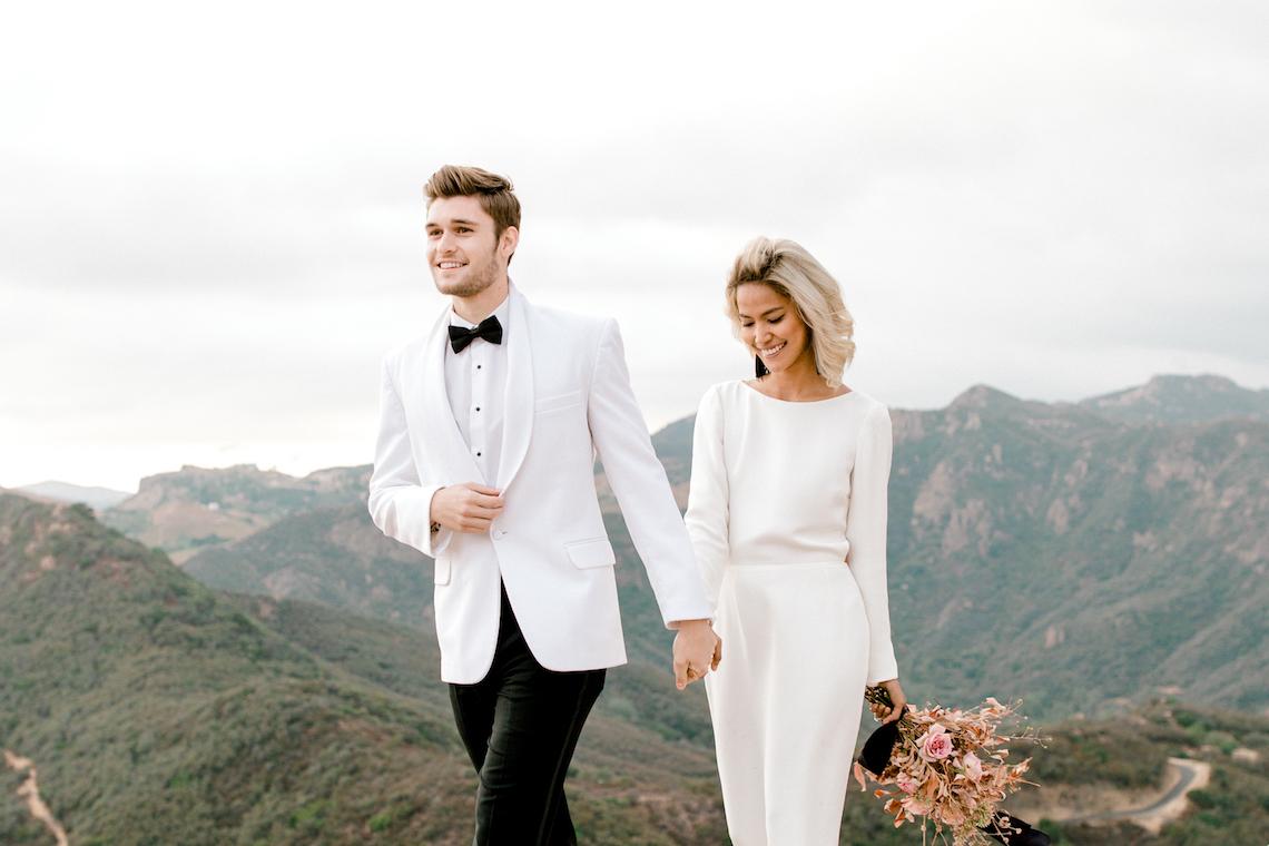 Fashion-forward Black & White Wedding Ideas From Malibu   Babsy Ly 38
