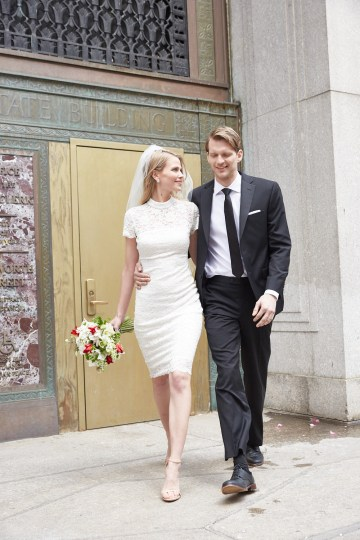 How To Style Your Intimate Wedding – The Elopement Fashion Guide | David's Bridal Little White Dresses 30