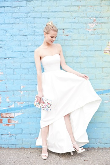 How To Style Your Intimate Wedding – The Elopement Fashion Guide | David's Bridal Little White Dresses 39