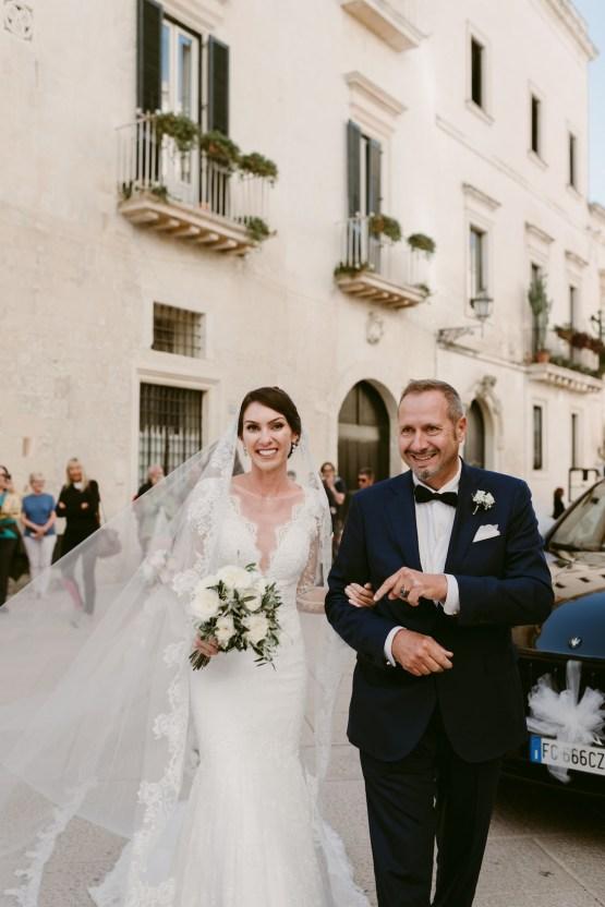 Luxurious Italian Cathedral Wedding On The Seaside | Serena Cevenini 29