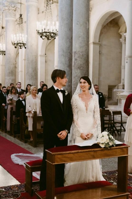 Luxurious Italian Cathedral Wedding On The Seaside | Serena Cevenini 32