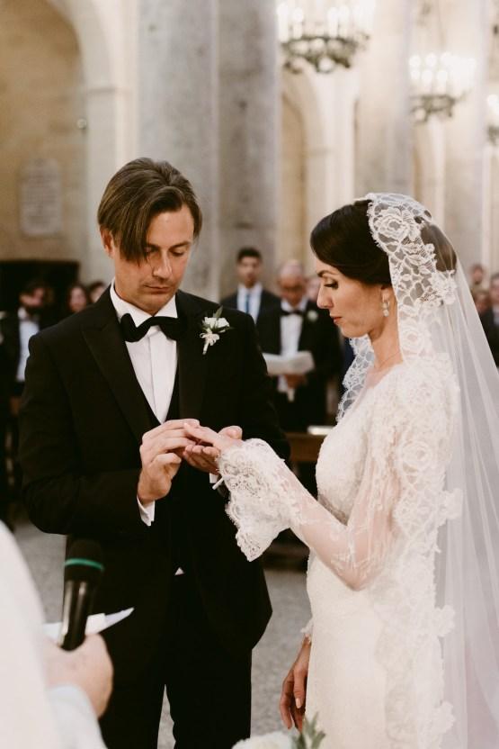 Luxurious Italian Cathedral Wedding On The Seaside | Serena Cevenini 33