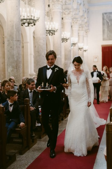 Luxurious Italian Cathedral Wedding On The Seaside | Serena Cevenini 35