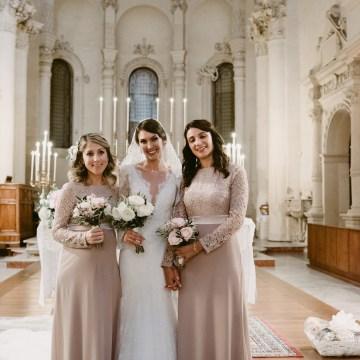 Luxurious Italian Cathedral Wedding On The Seaside | Serena Cevenini 37