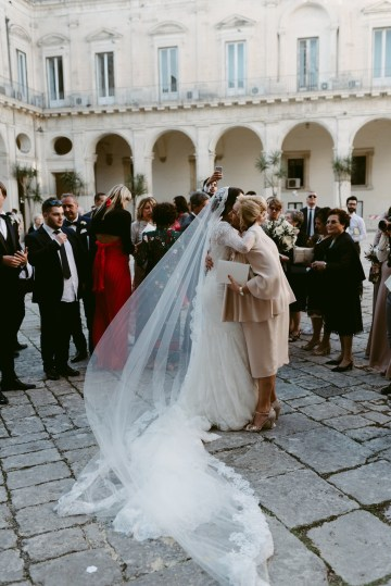 Luxurious Italian Cathedral Wedding On The Seaside | Serena Cevenini 39